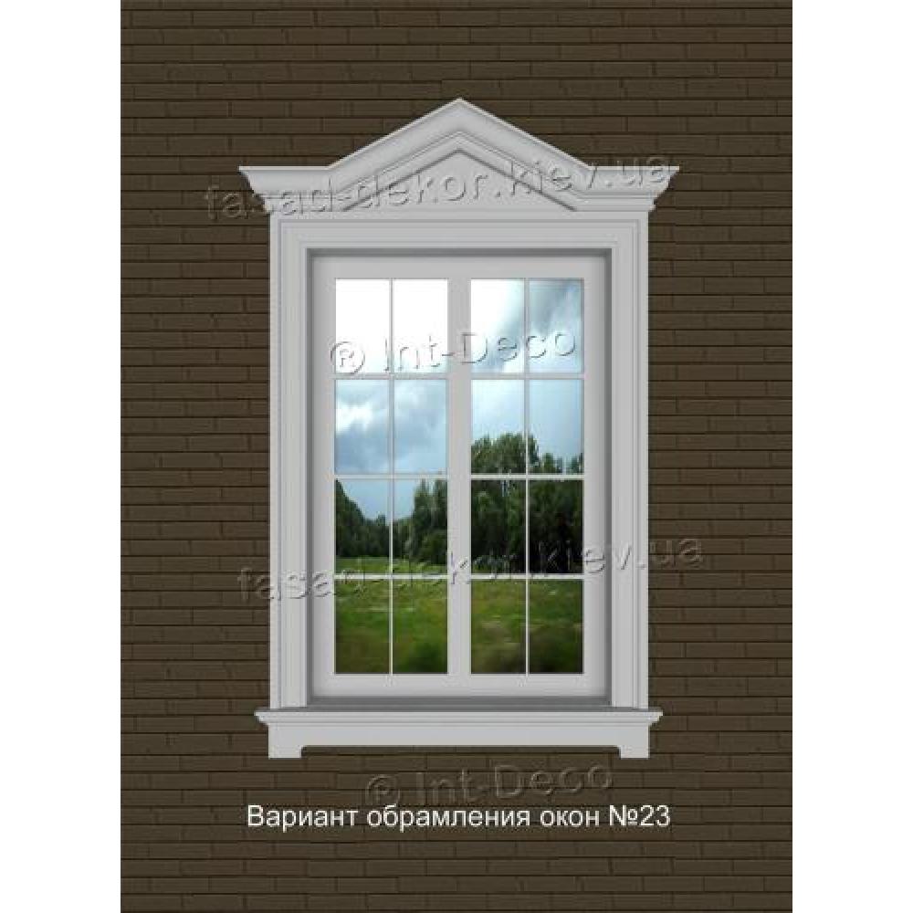 Фасад дома варианты отделки окон на фасаде № 23